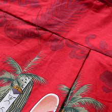 Load image into Gallery viewer, C90-A2447 (Burgundy surfboard), Men 100% Cotton Aloha Shirts.