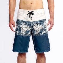 Load image into Gallery viewer, N90-B617 (Rustic print-navy), Men Microfiber Boardshorts (4-way stretch)