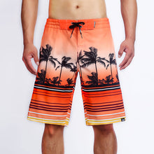 Load image into Gallery viewer, N90-B64089 (Red Scenery), Men Microfiber Boardshorts (4 way stretch)