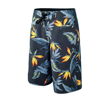 Load image into Gallery viewer, N90-B5024 (Paradise bird-black), Men Microfiber Boardshorts (4-way stretch) - three pockets