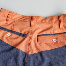 Load image into Gallery viewer, N90-S6781 (Verdant top band-orange/beige), Men Submersible Shorts (4-way stretch))