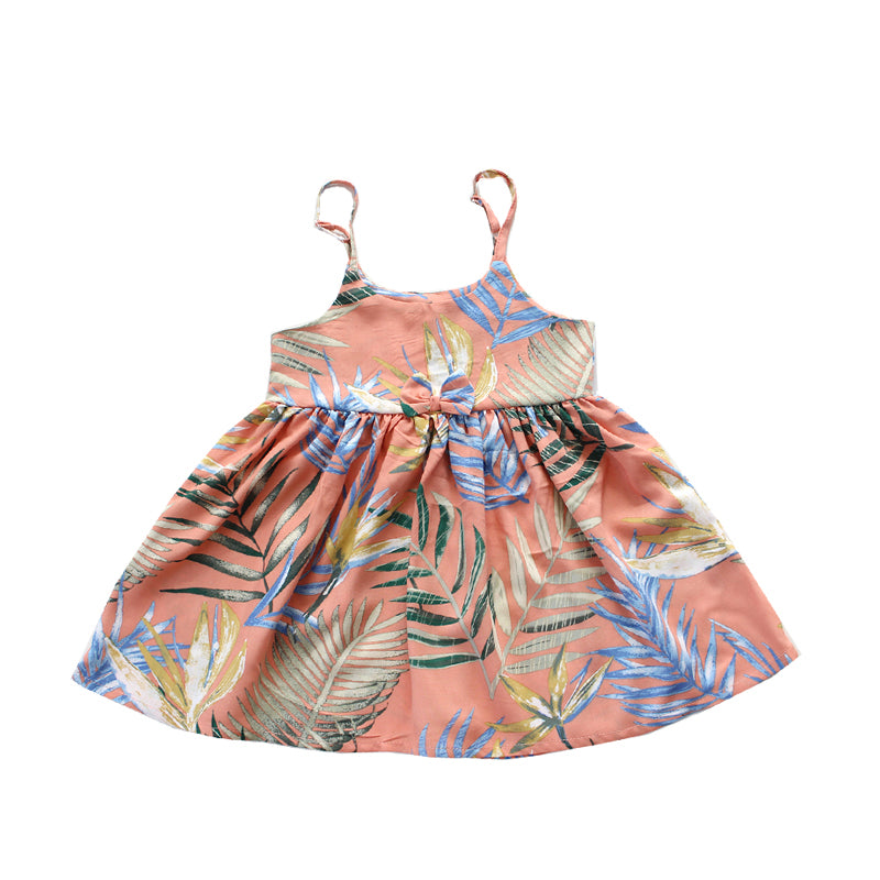 R21-D7872 (Coral reef), Girls Rayon Sundress