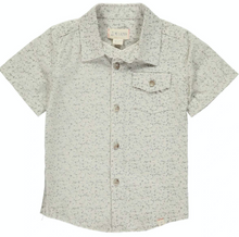 Load image into Gallery viewer, Beige Floral S and S Shirt