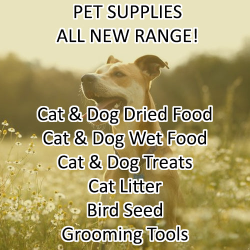 All New Pet Supplies Range Is Now Live!