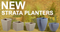 New Additions to Our Strata Planter Range