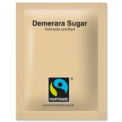 Fairtrade Sugar Sachets Brown 1000's