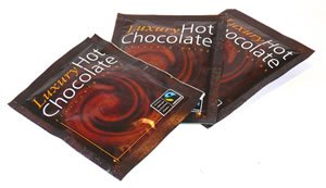 Fairtrade Luxury Hot Chocolate Sachets 100's