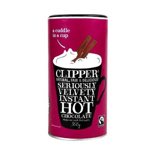 Clipper Fairtrade Hot Chocolate 350g