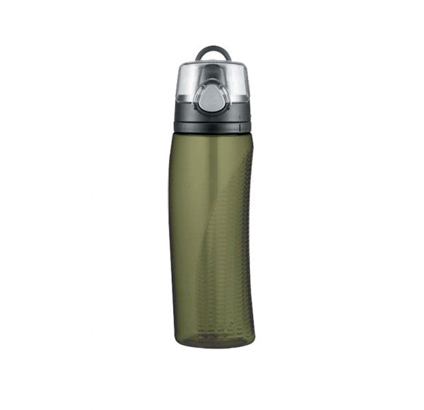 Thermos Olive Green Hydration Bottle with Meter 710ml