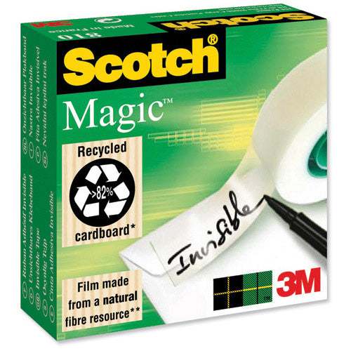 3M Scotch Magic Tape 810 19x33m