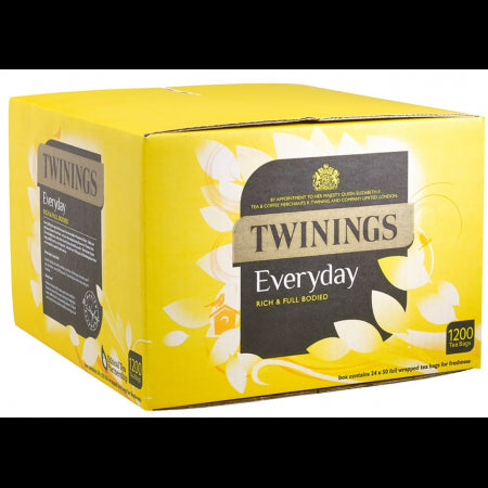Twinings Everyday Tea Bag (Pack of 1200 Bags)