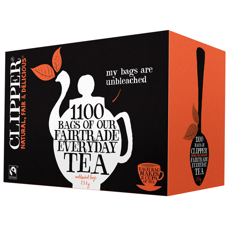 Clipper Fairtrade Everyday Tea Bags 1100