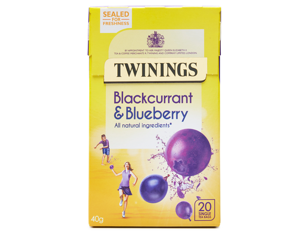 Twinings Blackcurrant & Blueberry Tea 20's