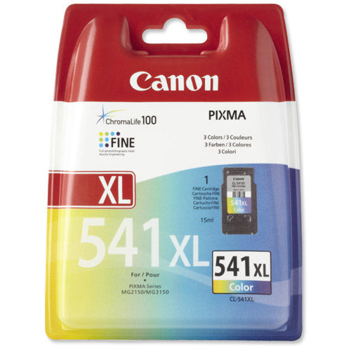 Canon Cl-541XL Tri Colour High Yield BlisteRed Without Security Code 5226B005