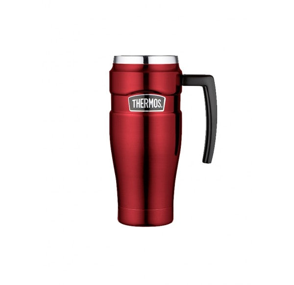 Thermos Stainless Red Travel Mug 470ml