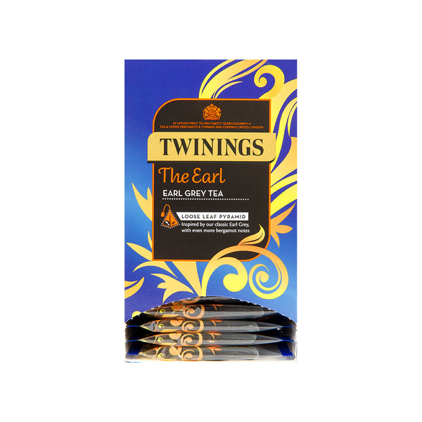 Twinings The Earl Loose Leaf Pyramid Bags 20s