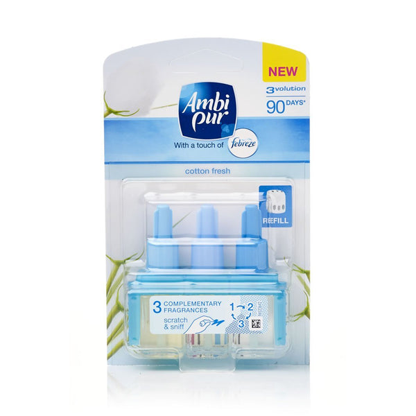 Ambi Pur 3volution Refill Cotton Fresh 20ml