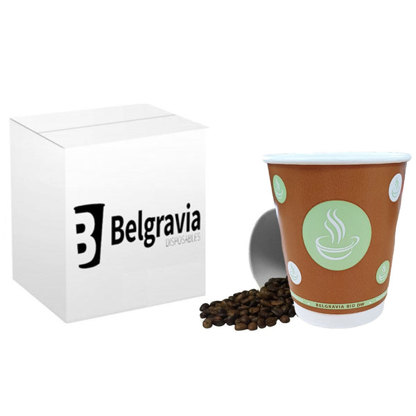 10oz Belgravia Biodegradable Double Walled Cups (500's)