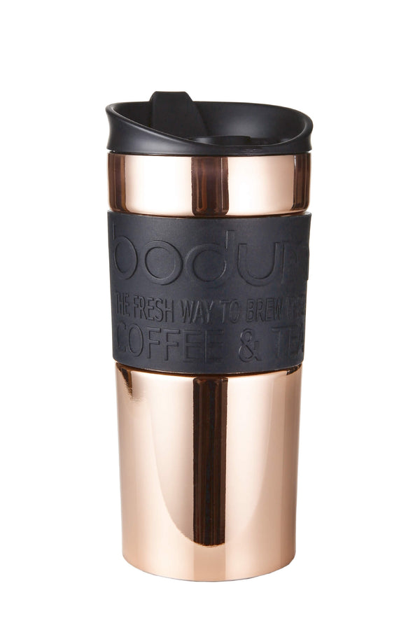 Bodum Black/Copper Travel Mug 0.35 Litre