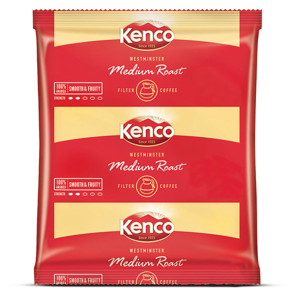 Kenco Westminster 3 Pint Filter Coffee Sachets 10's (inc 10 filters)
