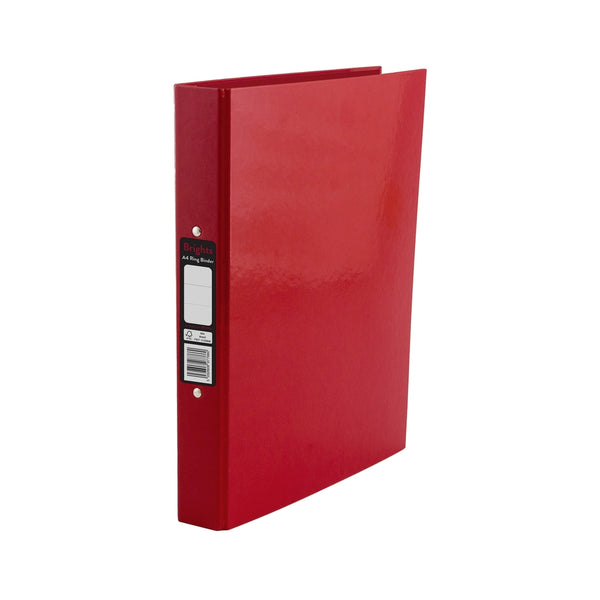 Pukka Pads Brights Ring Binder A4 Red (BR-7766)