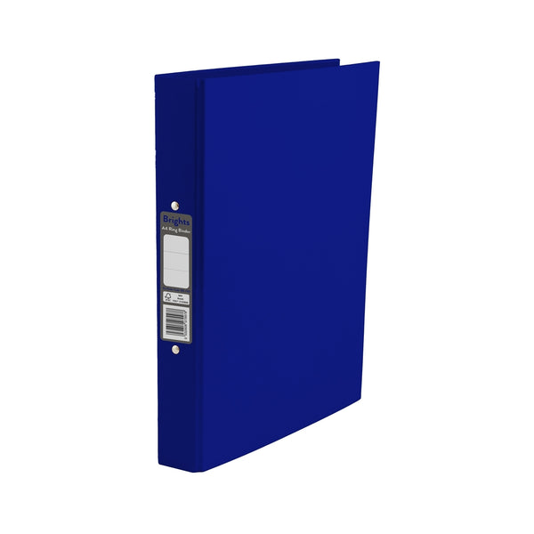 Pukka Pads Brights Ring Binder A4 Navy (BR-7997)