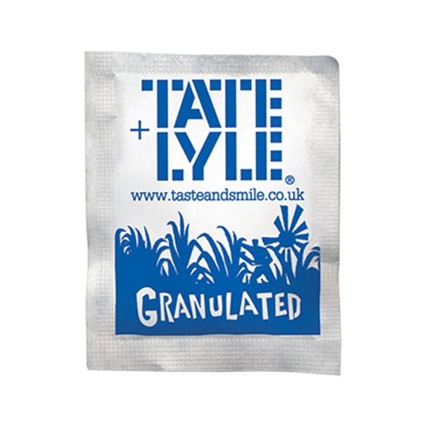 Tate + Lyle White Sugar Sachets (Pack of 1000)
