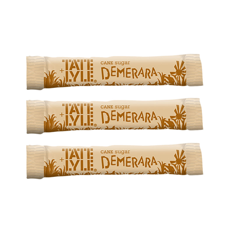 Tate & Lyle Demerara Sugar Sticks (Pack of 1000)