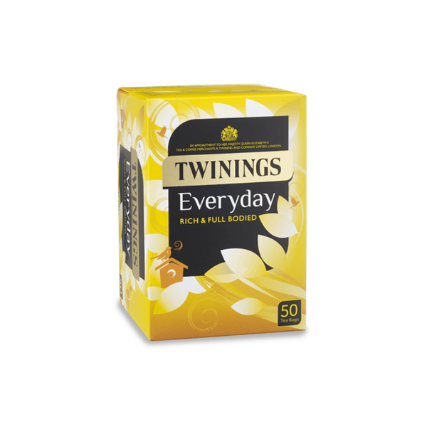 Twinings Everyday Enveloped Teabags 50's