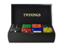 Twinings 8 Compartment Black Display Box (With Tea)