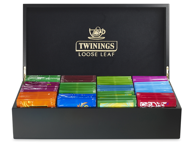 Twinings 8 Compartment Pyramid Display Box (With Tea)