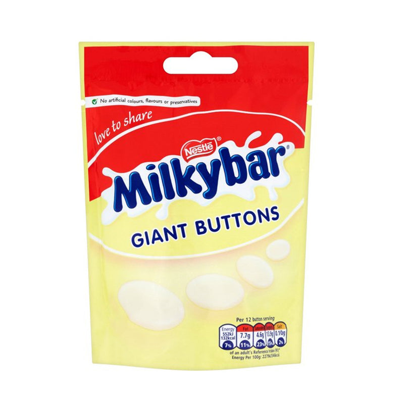 Milkybar Giant Chocolate Buttons Pouch 103g