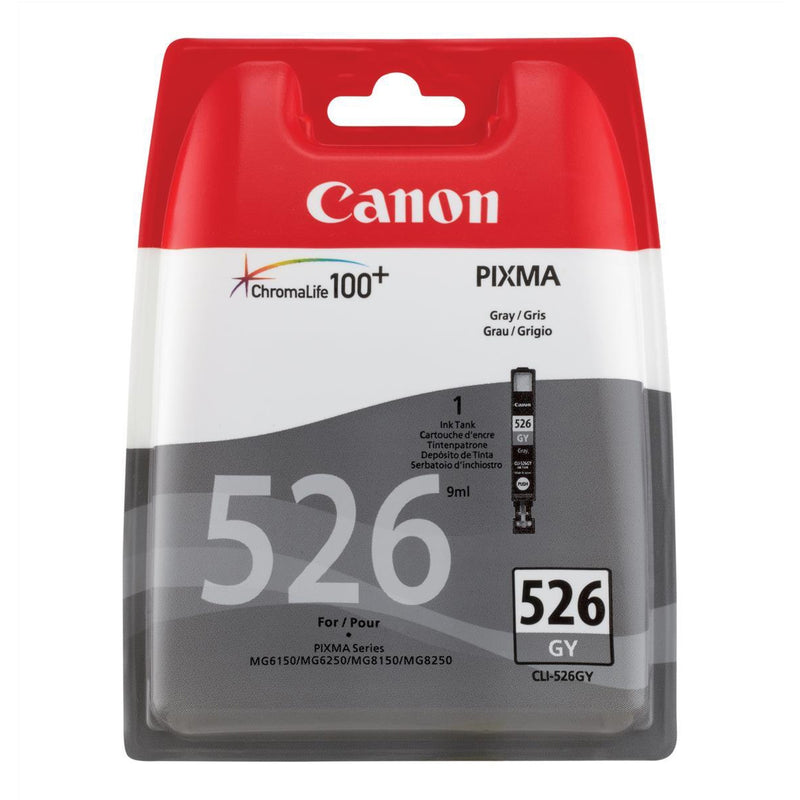 Canon Grey Inkjet Cartridge CLI-526GY