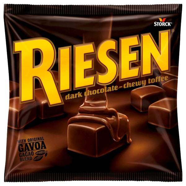 Riesen Dark Chocolate Chewy Toffee 135g