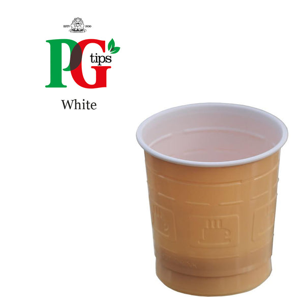 PG Tips White Vending In Cup (25 Cups)