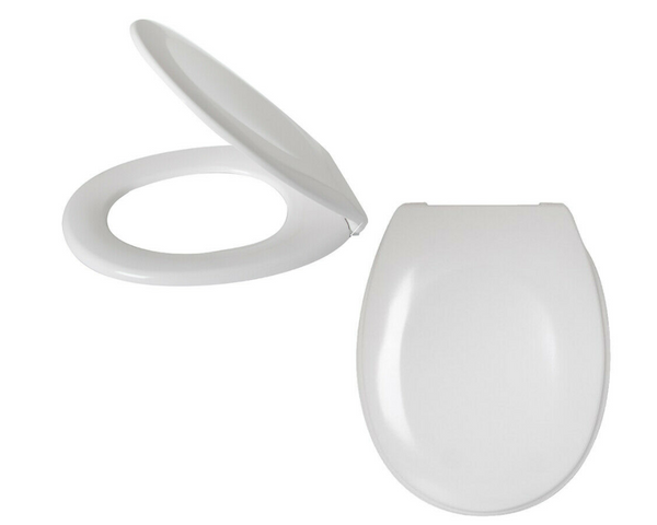 Sabichi White Slow Close Toilet Seat