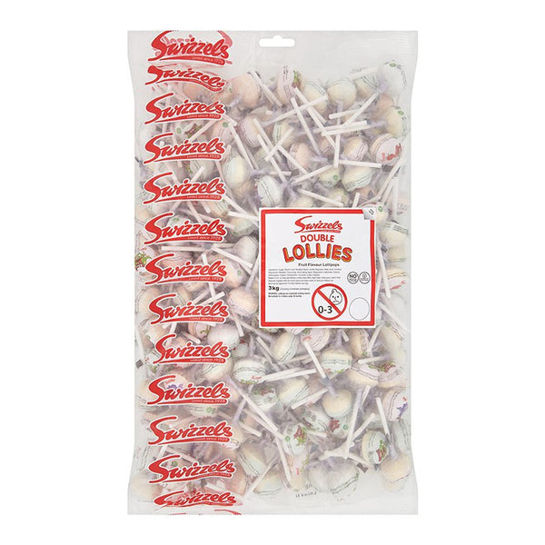 Swizzels Double Lollies Sweets Bag 3kg