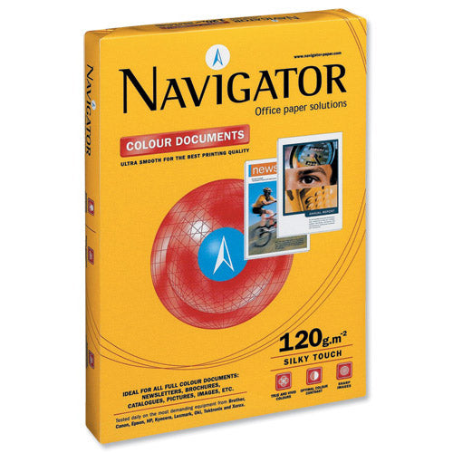 Navigator Paper Colour Documents A4 120G 1 Ream 250 Sheets Code NAVA4120