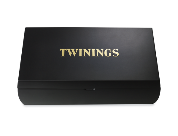 Twinings 8 Compartment Black Display Box (Empty)