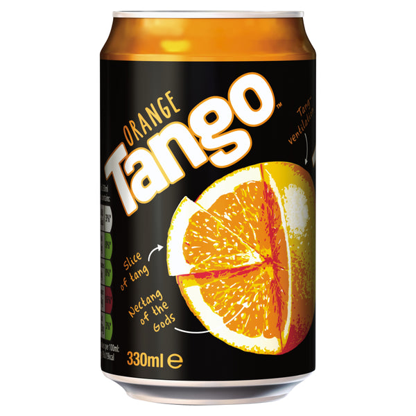 Tango Orange 330ml Can (24 Pack)