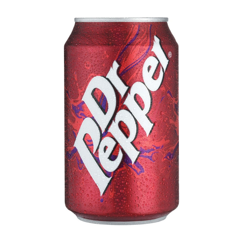 Dr Pepper Cans Pack 24 x 330ml