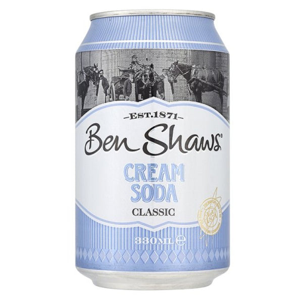 Ben Shaw's Cream Soda Cans Pack 24 x 330ml'