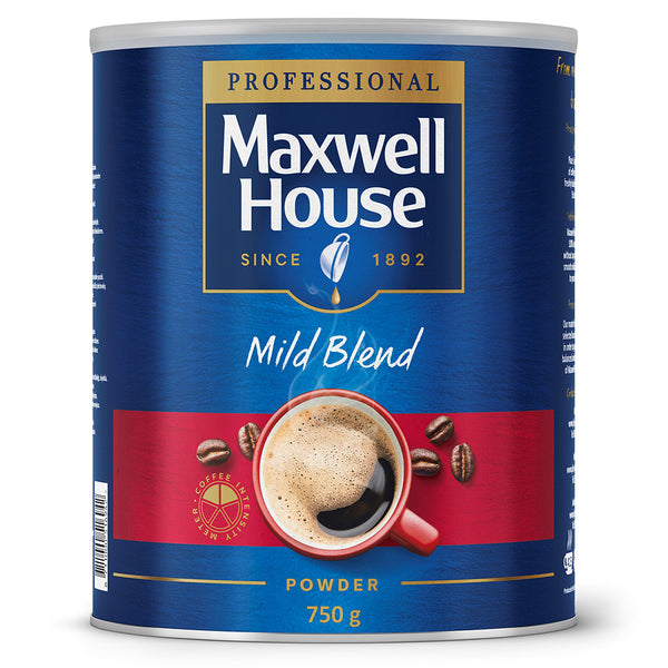 Maxwell House Mild Blend (Red) Powder 750g