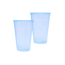 7oz Blue Disposable Water Cups 100s (Rolled Rim)