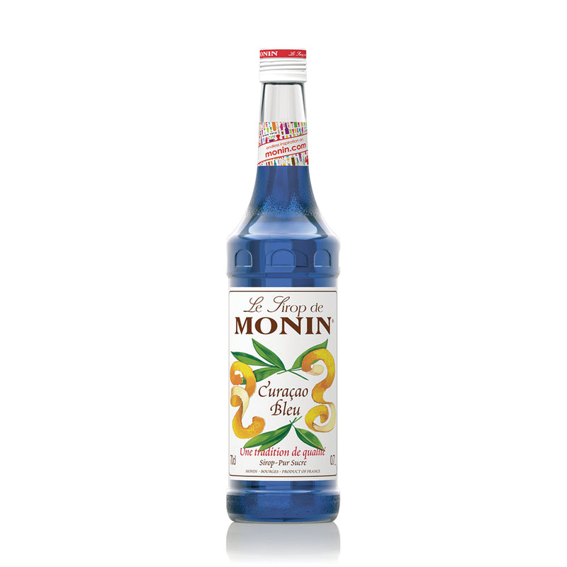 Monin Blue Curacao Cocktail Syrup 700ml (Glass)