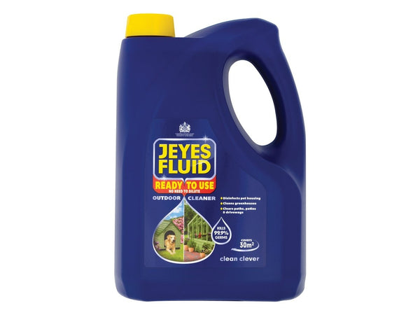 Jeyes Ready To Use {RTU} Fluid Outdoor Disinfectant 4 Litre
