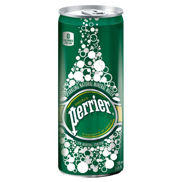 Perrier Sparkling Water Cans 35 x 250ml