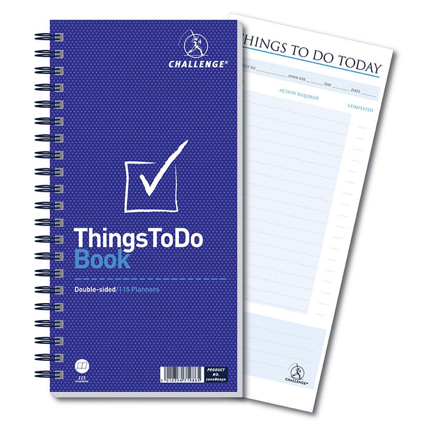 Challenge Things To Do Today Book 280x141mm