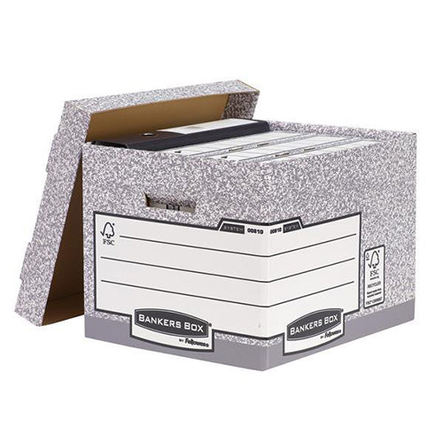 Fellowes R-Kive System Standard Storage Boxes Pack 10 Code 00810-FF