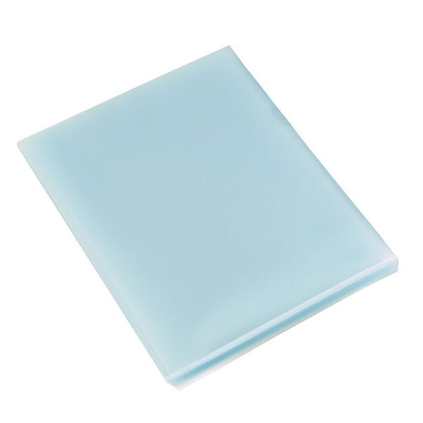 Rexel A4 Clear Budget Cut Flush Folders Pack 100's